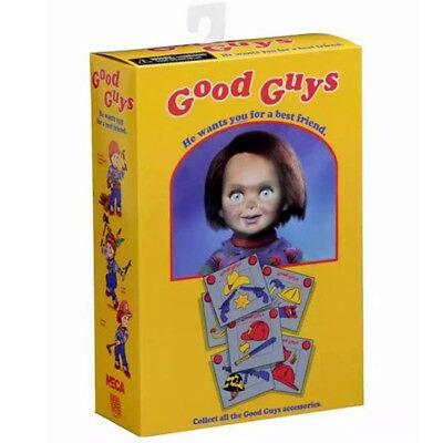 """NECA 4"""" Ultimate Chucky Doll Child's Play Good Guys Figure Model toy Official"""