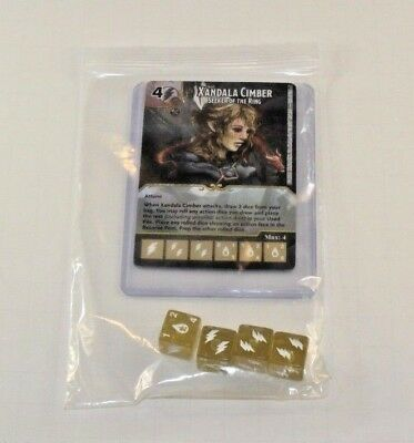 SILVER DRAGON RARE Uncommon CUR 4 dice D/&D Dice Masters Tomb of Annihilation