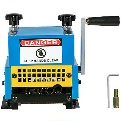 Durable Copper Wire Stripping Machine Hand Crank Operated Cable Stripper