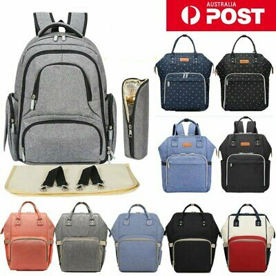 Multifunctional Large Baby Diaper Backpack Mummy Nappy Nursing Changing Bag