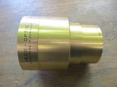 Isco Optic Cinelux Ultra MC 35mm projector lens / cine projection lens 2 / 95mm