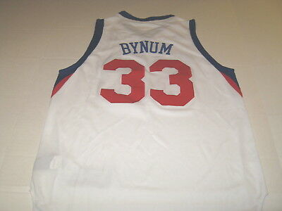 0c41f66d911 Andrew Bynum Philadelphia 76ers Adidas StitChed Basketball Jersey New Boys  MED