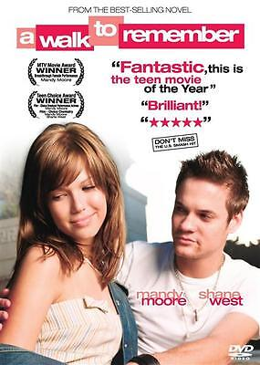 A Walk to Remember - Mandy Moore, Shane West  PAL DVD Region 0 New