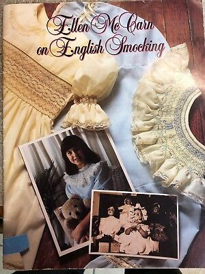 Smocking Books-Ellen McCarn On English Smocking And One Stitch At A Time.