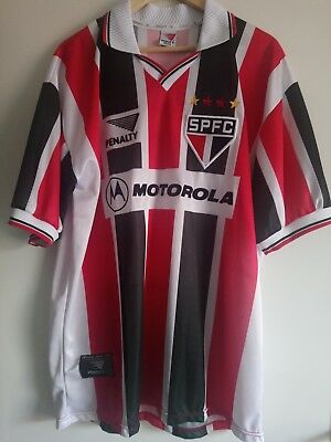Maillot vintage SAO PAULO F.C 2001 away shirt - PENALTY - XL