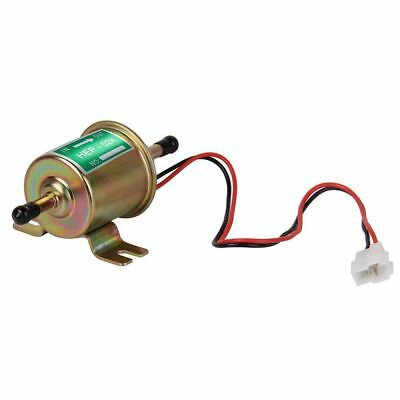 4-7 PSI Electric Fuel Pump 12V Low Pressure Gas Diesel Inline Universal HEP-02A