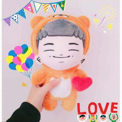 KPOP BTS Plush Rap Monster RM Namjoon dolls with Dimples +Ryan clothes Limited