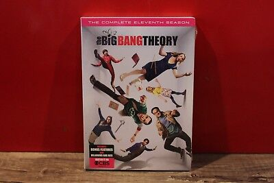 The Big Bang Theory: The Complete Eleventh Season (DVD, 2018) - BRAND NEW!