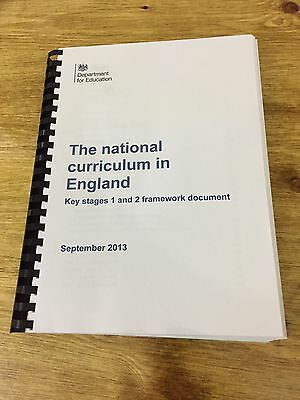 National Curriculum in England:Handbook for Primary Teachers Key Stage 1 & 2