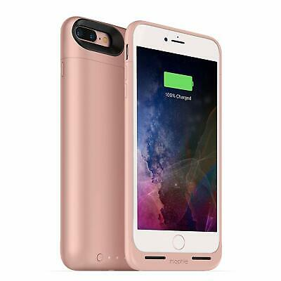 mophie Juice Pack Air Battery Charging Case for iPhone 7 PLUS, 8 PLUS Rose Gold