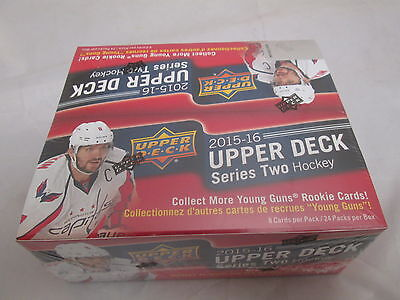 2015-16 Upper Deck Series 2 Hockey Retail Box
