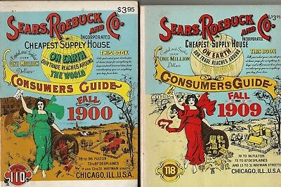 Sears, Robuck And Co. Fall Catalog 1900 & 1909