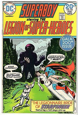 Superboy & The Legion of Super-Heroes #200, Fine Condition