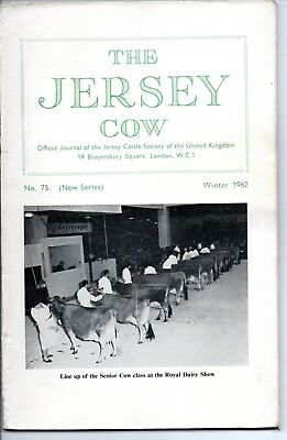 The Jersey Cow, Journal of the Jersey Cattle Society, Winter 1962, With Adverts