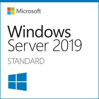 Microsoft Windows Server 2019 STANDARD 64BIT GENUINE ACTIVATION LICENSE