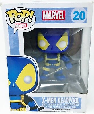 "DEADPOOL Pop Marvel Universe 4/"" inch Vinyl Bobble Head Figure #20 2014"