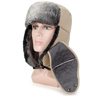 Mens Women Winter Fleece Balaclava Hat Trooper Snow Ski Neck Face Mask Hood Cap