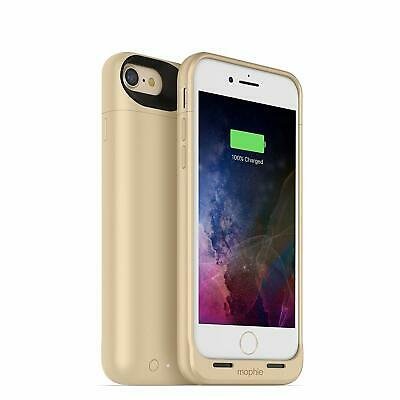 mophie juice Wireless Charging Protective Battery Pack Case iPhone 7 - Gold