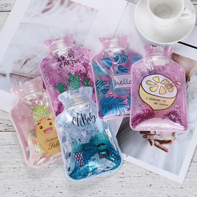 Reusable Warm Supplies Hand Warmer Hot Water Bottles Transparent Colorful