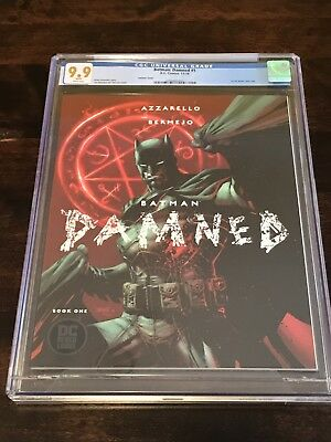 CGC 9.9 Batman Damned 1 Jim Lee Variant DC Comics