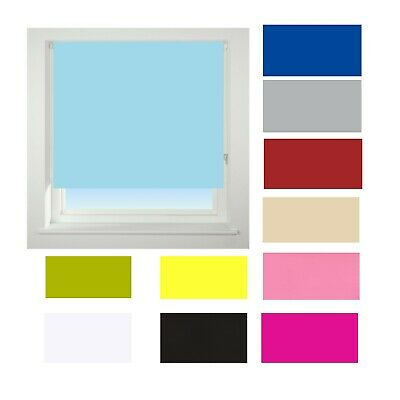 CLEARANCE Blackout Roller Blinds, Roller Blinds 100% Thermal Blackout