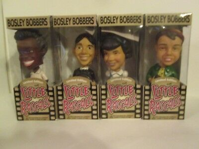 Bosley Bobbers - Bobbleheads - The Little Rascals, all in original boxes