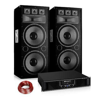 "Set PA Saphir Series ""Warm Up Party"" 215PLUS 2 x enceintes 15""+ ampli"