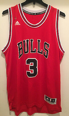 6fb9949a33b3 ... canada chicago bulls dwyane wade 3 adidas swingman jersey red  colormissing hand tag 5ace0 a5c6c