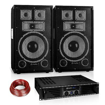 "Set PA Saphir Series ""Warm Up Party"" 10PLUS 2 x enceintes 10""+ ampli"