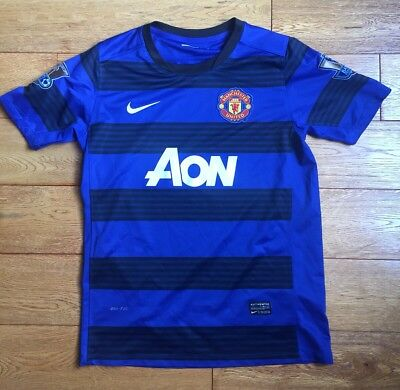 Kids Childs Youth Manchester United Football Shirt Nike Age 12-14 Years Junior