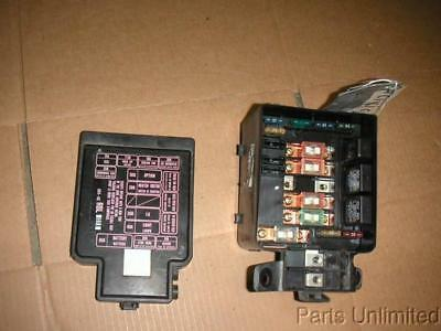 92 95 honda civic oem under hood fuse box w fuses relays  1992 honda civic under hood fuse box diagram #15