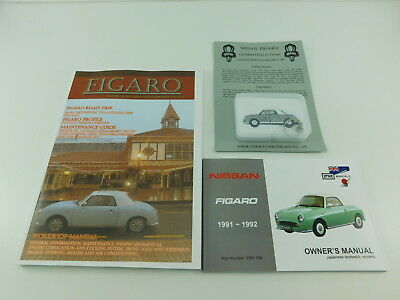 Compatible With Nissan Figaro Workshop & Owners Manual & Presentation Usb Kit