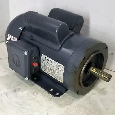 1.5 HP 1730 RPM 115//230 VOLT AC 145T FRAME TEFC FARM DUTY TECHTOP MOTOR 10-2913
