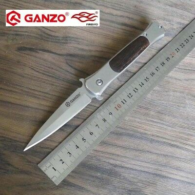 58-60HRC Ganzo G707 440C blade EDC Folding knife Survival Camping tool Hunting