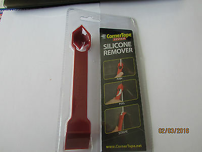 Cornertape Silicone Sealant scraper Remover Tool Bathroom Kitchen tiles BNIB