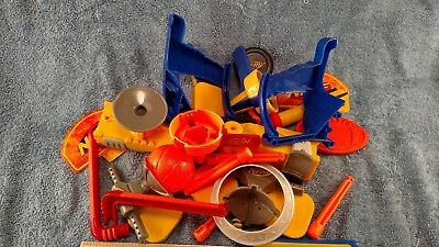 (USED) NERF Mixed Lot of 2009 Hasbro Pieces