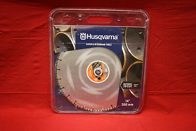 "Husqvarna 14"" 350mm D15 Diamond Blade BRAND NEW!!! FREE SHIPPING!!"