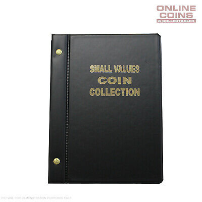 VST Australian Small Values Coin Album 1966-2018 BLACK - 1c, 2c, 5c and 10c