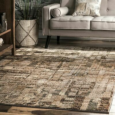 Nuloom Contemporary Modern Abstract Area Rug In Brown