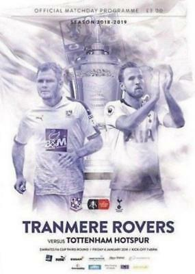 * 2018/19 - TRANMERE ROVERS v TOTTENHAM HOTSPUR (FA CUP - 4th January 2019) *