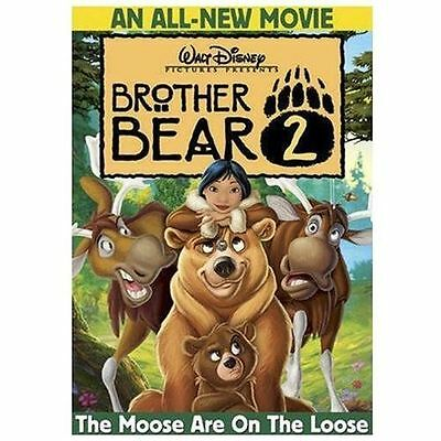 Brother Bear 2 (DVD, 2006, NEW) Walt Disney Film