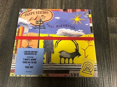 Paul McCartney - Egypt Station - 2018 CD - Brand New Factory Sealed - Concertina