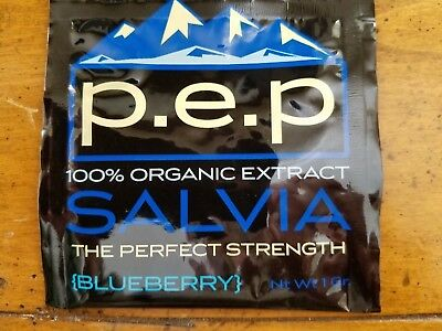 1 gram of Blueberry Pep Salvia