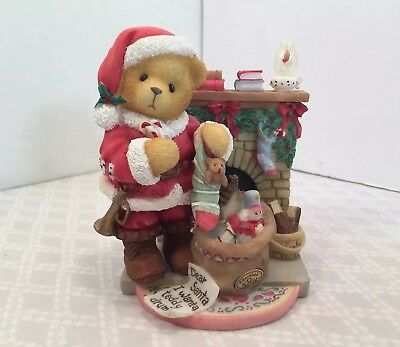 Cherished Teddies Sanford Christmas Santa Celebrate Family Friend Limited 534242