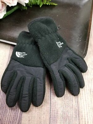The North FACE Youth Junior Size MEDIUM Gloves Winter Black
