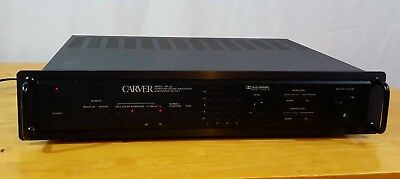 Carver DPL-33 Surround Sound Processor Subwoofer Output With Remote and Manual