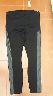SUSSAN Maternity Leggings Pants Black Size L NWT