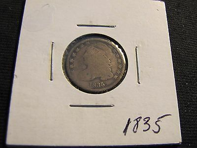 1835 Bust Silver Dime