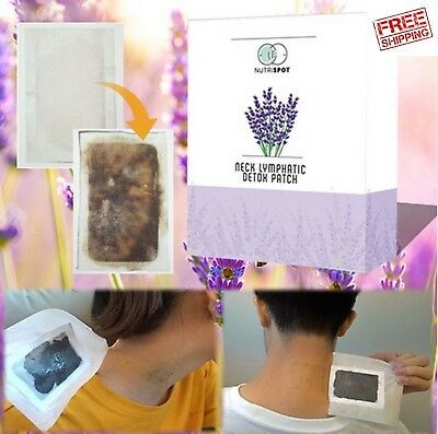 TOP Nutrispot™ Neck Lymphatic Detox Patch 10 patches/Box FREE SHIPPING