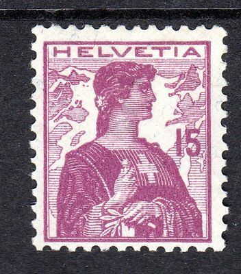 Switzerland - 1909 Definitive Helvetia - Mi. 116 MH